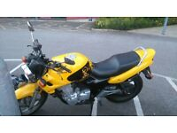 Honda CB 500 1998 plate - MOT April 2017