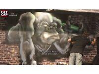 Top International Street Art - Graffiti Artist - Aerosol Spray Can Murals - HAMPSHIRE
