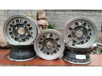 Mini alloy wheels rare