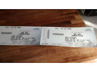 2 tickets for WWE Raw Live Wrestling Tickets - SSE Hydro Arena , Glasgow - 07/11/16