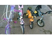 Great quality children's bikes for sale