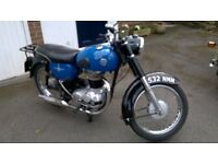 AJS 350 lightweight good condition lot of work done by previous previous owner