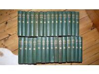 Charles Dickens Vintag Book Set