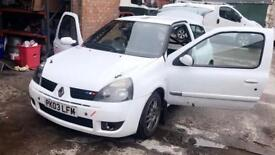 03 Renault Clio 172 Cup Stage Rally Car