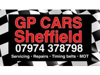 Servicing Repairs and timing belts at competitive prices