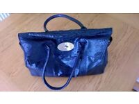 Genuine Mulberry Heritage Bayswater Handbag