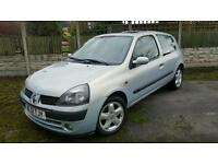 RENAULT CLIO DIESEL1.5 DCI DYNAMIC 65+ VERY ECONOMICAL CHEAP TO RUN & INSURE £30 TAX YEAR