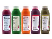 Raw Juice Cleanse 3-Day Plan, with free delivery