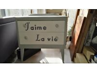 Retro two drawers sideboard