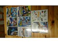 Nintendo Wii with selection of games