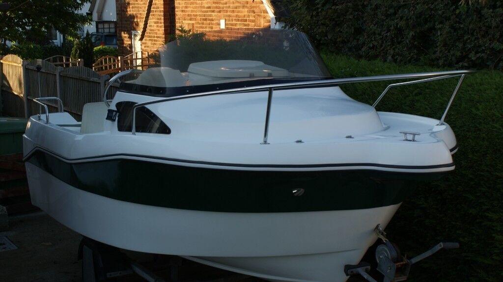 2014 Darmar 15ft 460 power Fishing \ Cruiser Boat and Snipe Roller Trailer  | in Minster on Sea, Kent | Gumtree