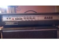 Bass guitar amp and speaker