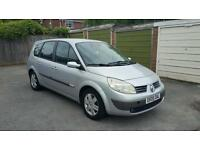 2005 renault grande scenic 7 seater with full mot