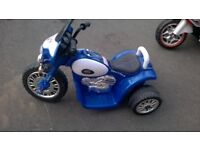 childs battery motorcycle. American Police motorcycle. Good condition.