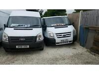 FORD TRANSIT SWB SEMI HIGH ROOF