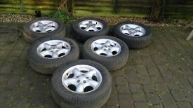 Landrover Freelander mk 1, alloys wheels and tyres