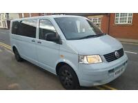 2005 55reg VW TRANSPORTER 9 SEATER SHUTTLE WITH WHEELCHAIR LIFT ** AUTOMATIC ** £6995 ONO!