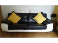 Three pice suite, sofa, settee