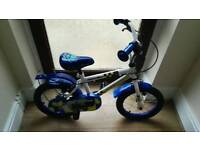 apollo police kids bike 14 inch used twice: RRP: £65