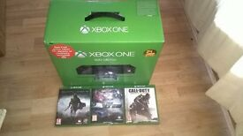 boxed xbox one with 3 games 160 set price