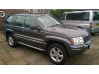 Grand jeep cherokee overland 2.7 d Auto 4x4 (REDUCED IN PRICE)
