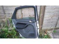 Ford Focus mk 2 rear passengers side window