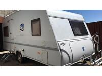 2007 German lightweight touring caravan