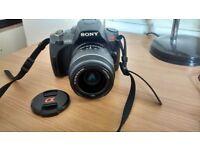 Sony Alpha A330L 10.2MP Digital SLR Camera + 18-55mm Lens (*Flash not working*)