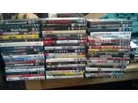 DVDs FOR SALE. FIRST COME, FIRST SERVED FOR CHOICE AND SELECTION