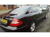 Clk 320 cdi 7gtronic Avantegarde black, 3 NEW TIRES. REDUCED TO 4000 FOR QUICK SALE!