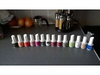 IBD gel polish 14 bottles