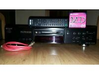 Sony mds je 480 minidisc player/recorder