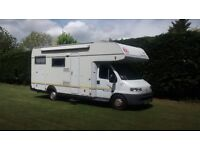 2001 EURA MOBIL FIAT DUCATO Sport S 665 HB 6 berth motorhome - Turbo Diesel - LHD in Bury St Edmunds