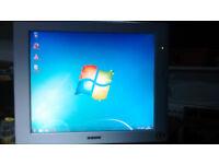 """Sony SDM-S71R TFT LCD Monitor 17"""""""
