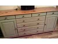 Ikea small pine sideboard in excellent condition