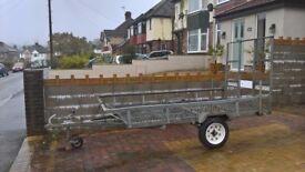 Galvanised trailer great condition, quad, motorbike, mover etc. W.H.Y