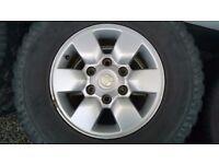 "Toyota Hilux 15"" Alloy Wheels & Tyres"