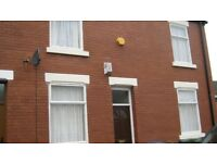 To let 2 bed house reddish stockport recently refurbished,G.C.H, d/glazeing unfurnished.