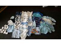 Baby Boy Bundle of Clothes Tiny Baby-Newborn