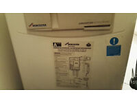 Worcester Greenstar 440 A-rated combi boiler and Siemens wireless thermostat set