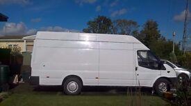 2008 Transit long wheelbase van