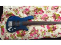 Rockbass Streamer 5 String Fretless Bass Guitar