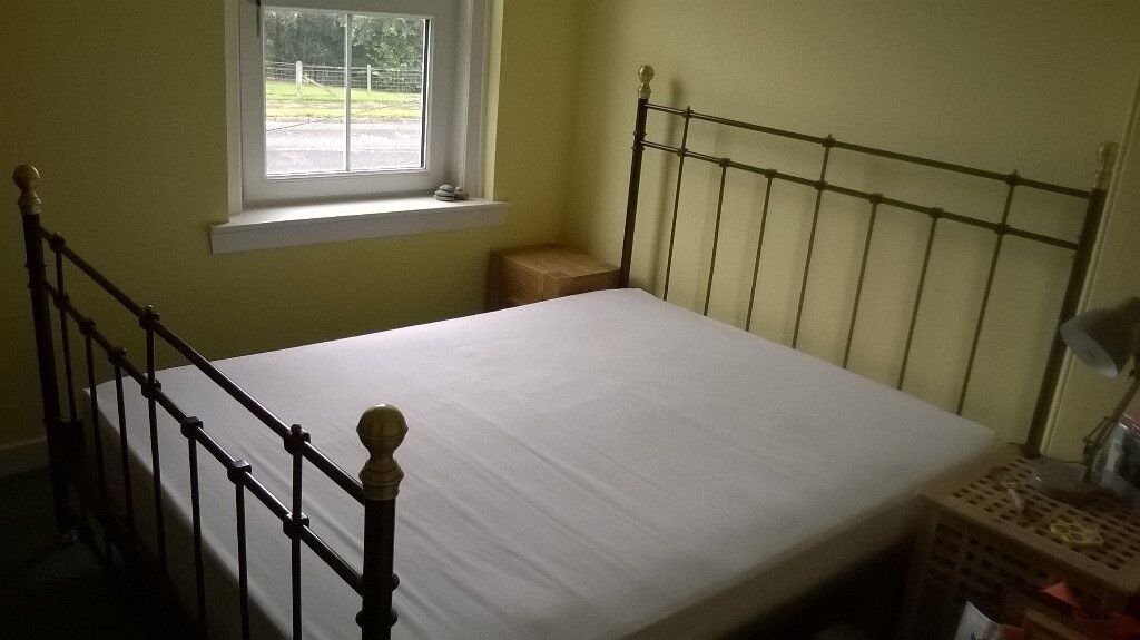 King Size Metal Ikea Tromsnes Bed In Linlithgow West