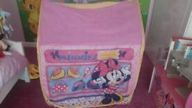 kids minnie mouse tent