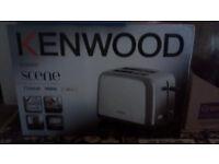 Kenwood 2 slice toaster - Brand new