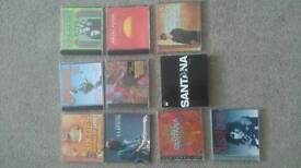 Cd & DVD music collections Inc: rock, jazz. Latin, synth