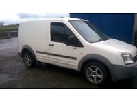 set 4 transit connect or volvo alloy wheels and tyres