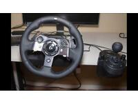 Logitech g920 wheel, pedals and gear shifter (XBOX ONE/ PC)