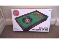 table top roulette game