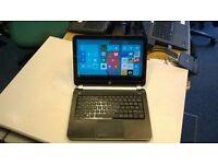 HP touch screen laptop - Win 10, Office 2016, 8GB RAM, 500GB HD, KODI/XBMC, HDMI, Wifi - £150
